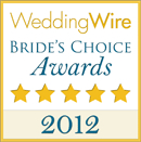 WeddingWire.com Bride's Choice Award 2012