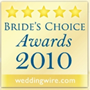 WeddingWire.com Bride's Choice Award 2010